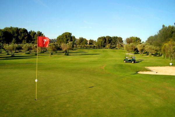 Las dimensiones del campo, Golf de Baux-de-Provence, Los deportes, Provence-Alpes-Côte d'Azur