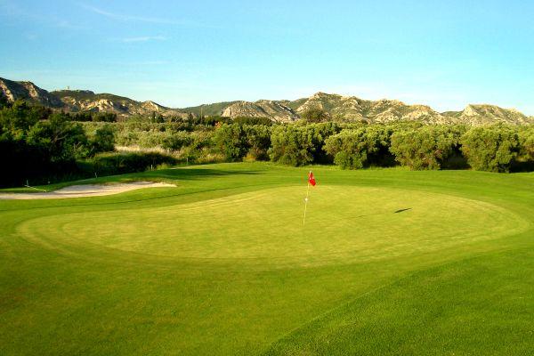 La práctica del golf, Golf de Baux-de-Provence, Los deportes, Provence-Alpes-Côte d'Azur