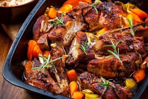 La gastronomie, rillaud, poitrine de porc