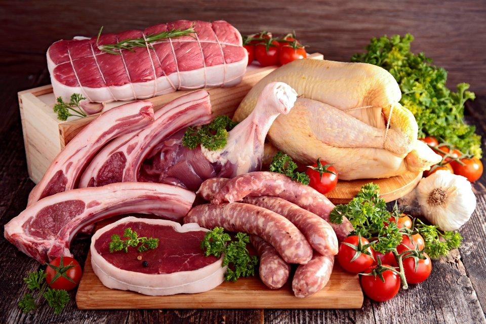 La gastronomie, viande, poisson, alimentation, agriculture, pays de la loire, france, europe, poulet, volaille, boeuf