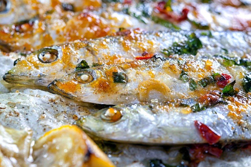 La gastronomie, viande, poisson, alimentation, agriculture, pays de la loire, france, europe, sardine, recette