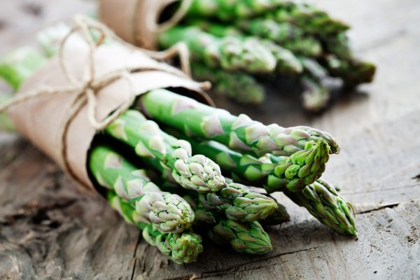 L'asperge , Bassin historique de production , France
