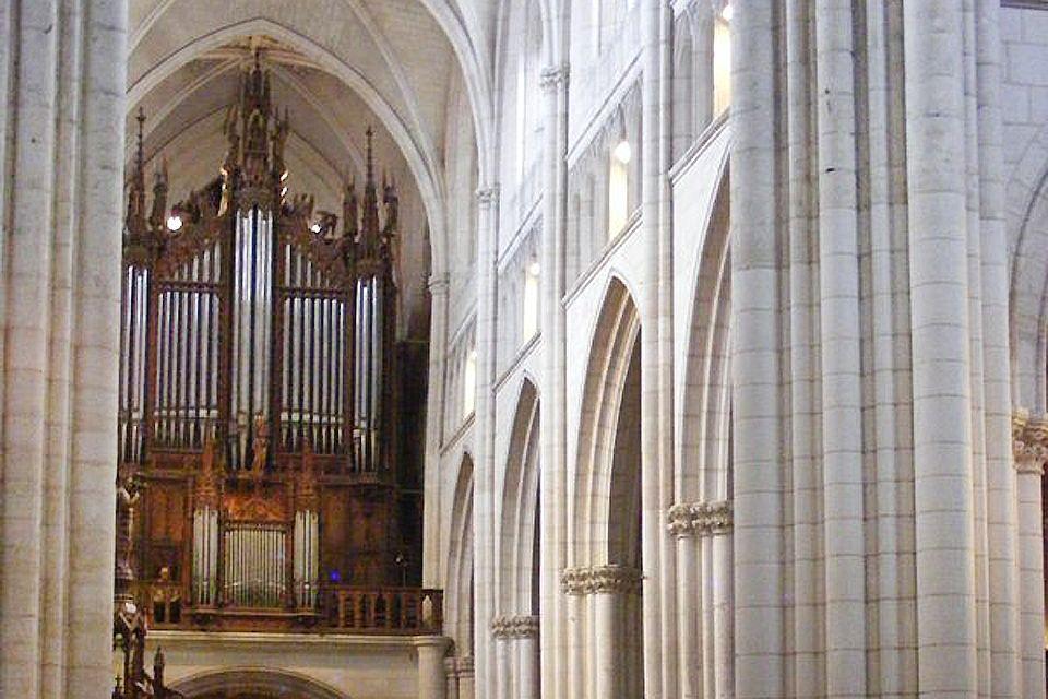 Les monuments, france, europe, pays de la Loire, cathédrale, religion, luçon, orgue