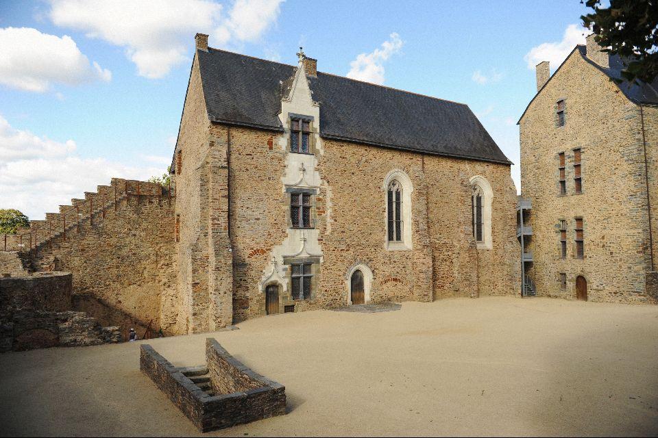 Château de Châteaubriant , La chapelle , France
