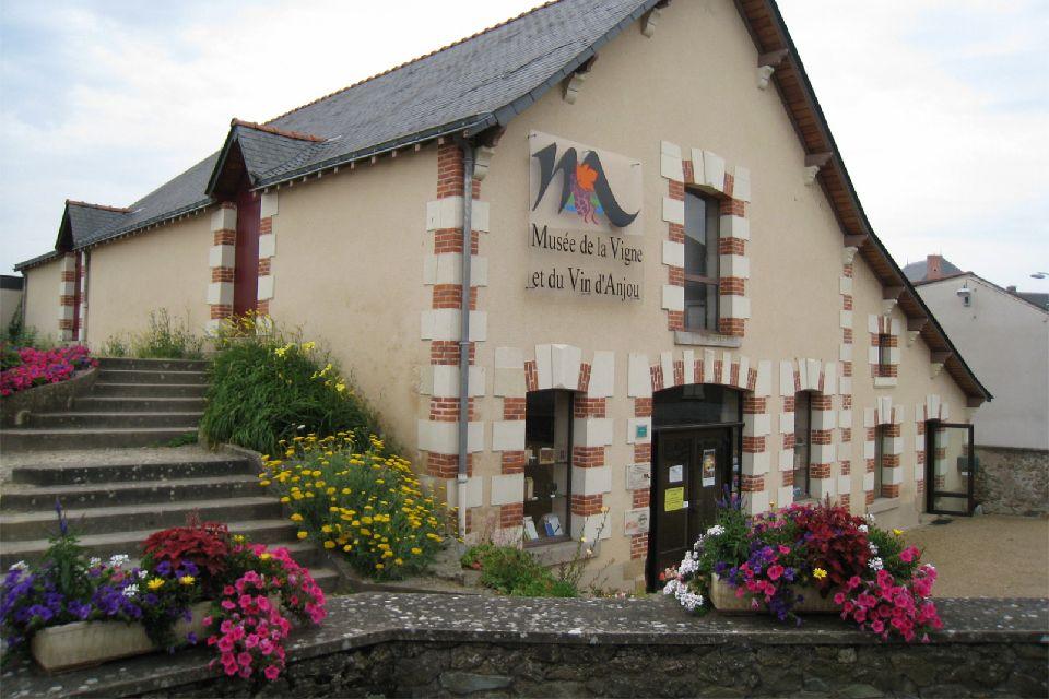 Musée de la vigne et du vin d'Anjou , La façade du musée , France