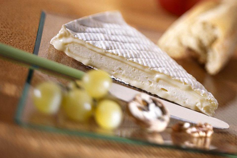Il Brie di Meaux , Francia