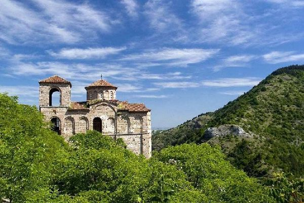 Das Rhodopengebirge , Das bewaldete Rhodopengebirge , Bulgarien