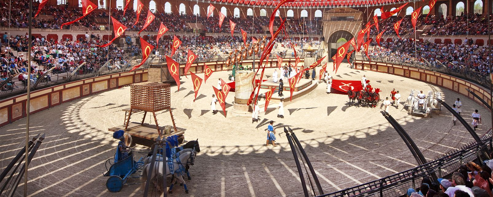 Puy du Fou , Life-size shows , France