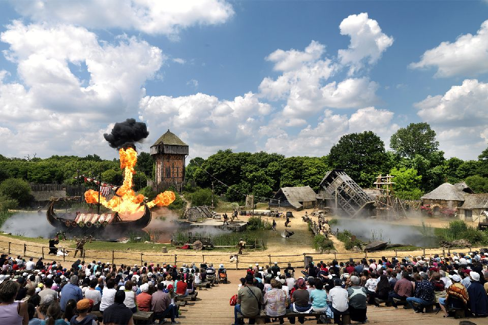 Puy du Fou , A highly successful park , France