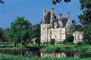 Château de la Guignardière , Le château et son étang , France