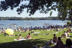 Lac de Maine , France