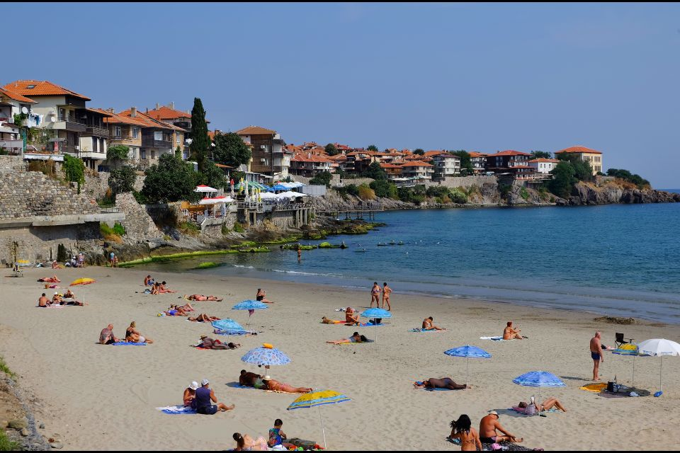 A beach in the south, The villages of the south, Coasts, Bulgaria