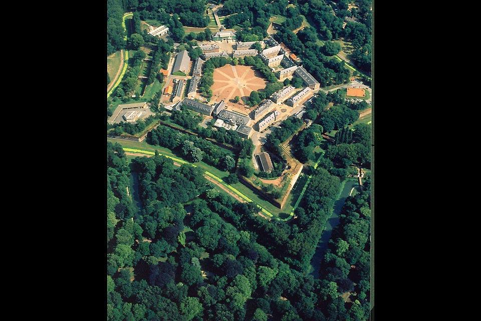 La Citadelle de Lille , Vue aérienne de la citadelle , France