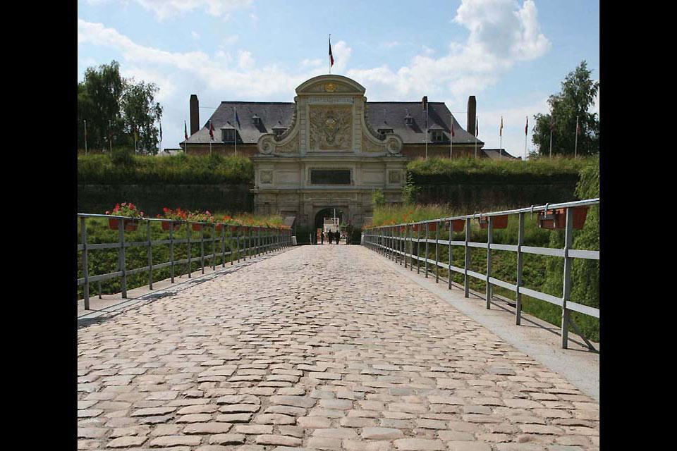 La Citadelle de Lille , Arrivée par la porte royale , France