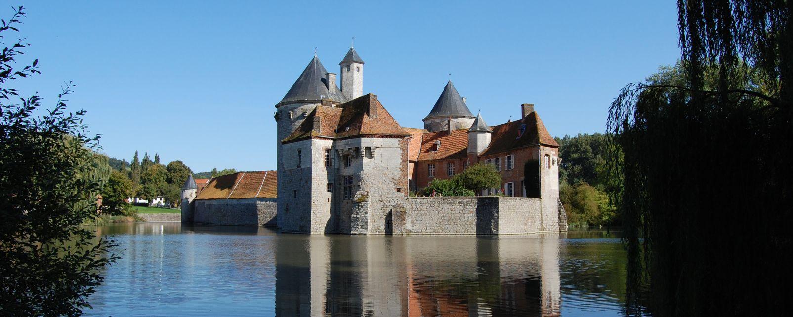 , El castillo de Olhain, Los monumentos, Norte-Pas-de-Calais