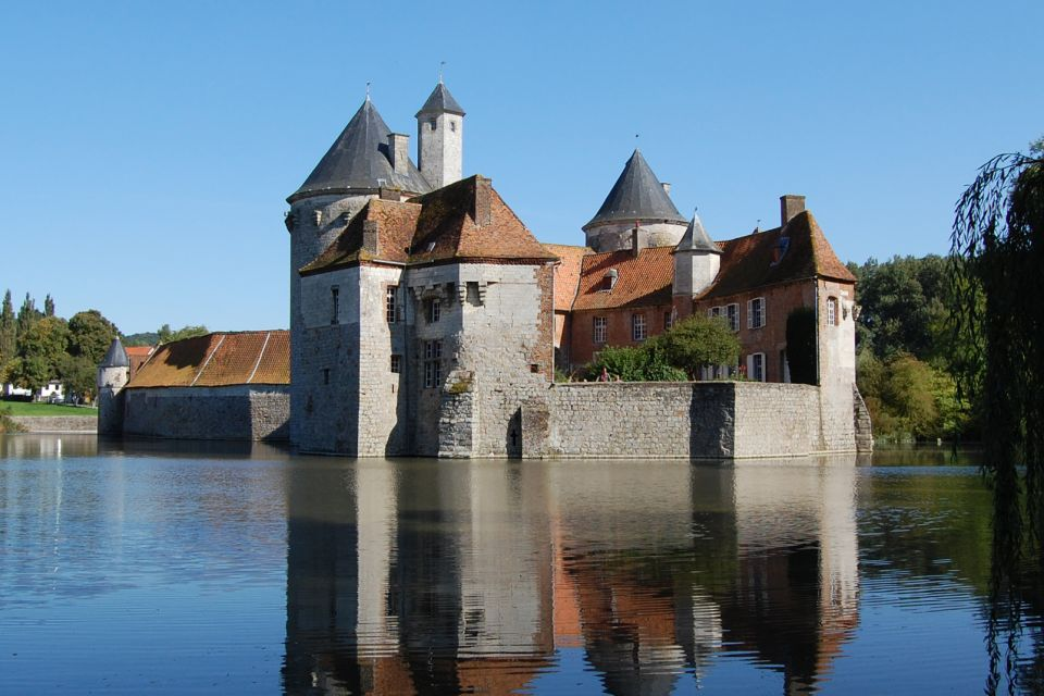 , Château d'Olhain (Olhain Castle), Monuments, Nord-Pas-de-Calais
