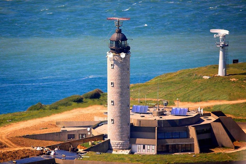 Le cap Gris-Nez , Le phare du cap Gris Nez , France