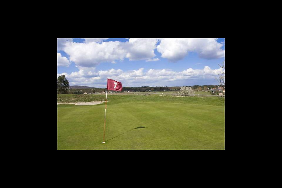 Dunkerque Grand Littoral Golf Course , The 7th hole at the Dunkerque Grand Littoral. , France