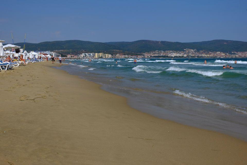 Sunny Beach sulle rive del Mar Nero, Sunny Beach, Le rive, Bulgaria