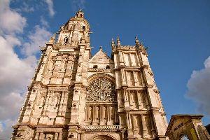 La cathédrale Notre-Dame d'Evreux , France