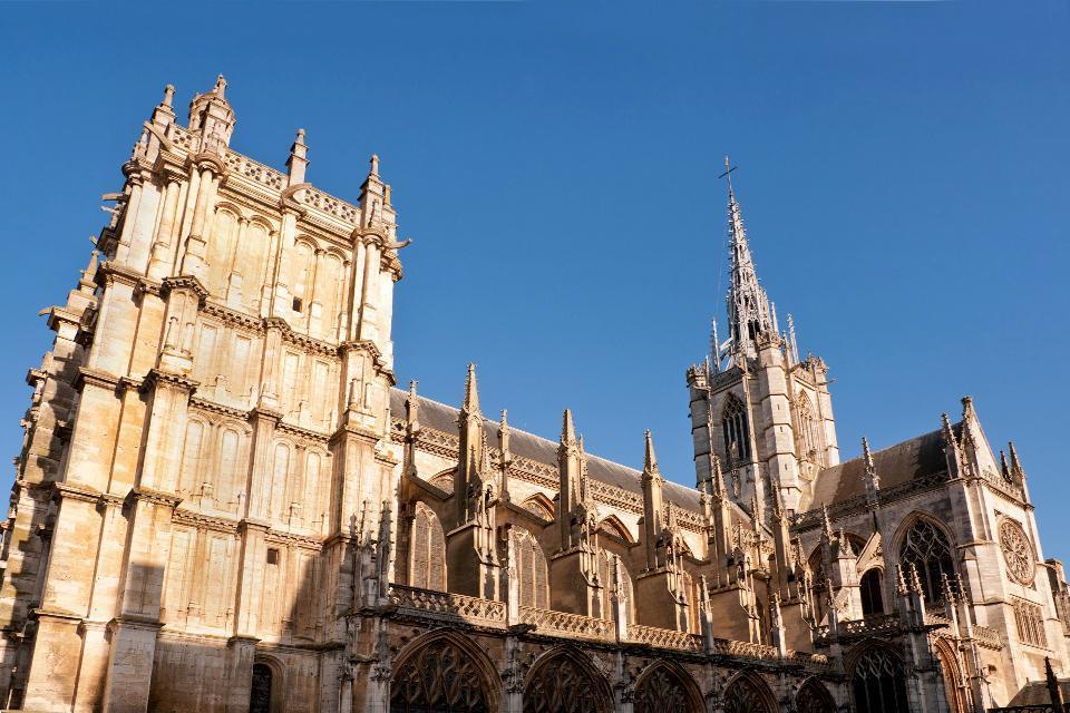 La Catedral de Notre-Dame de Evreux , Monumento histórico , Francia