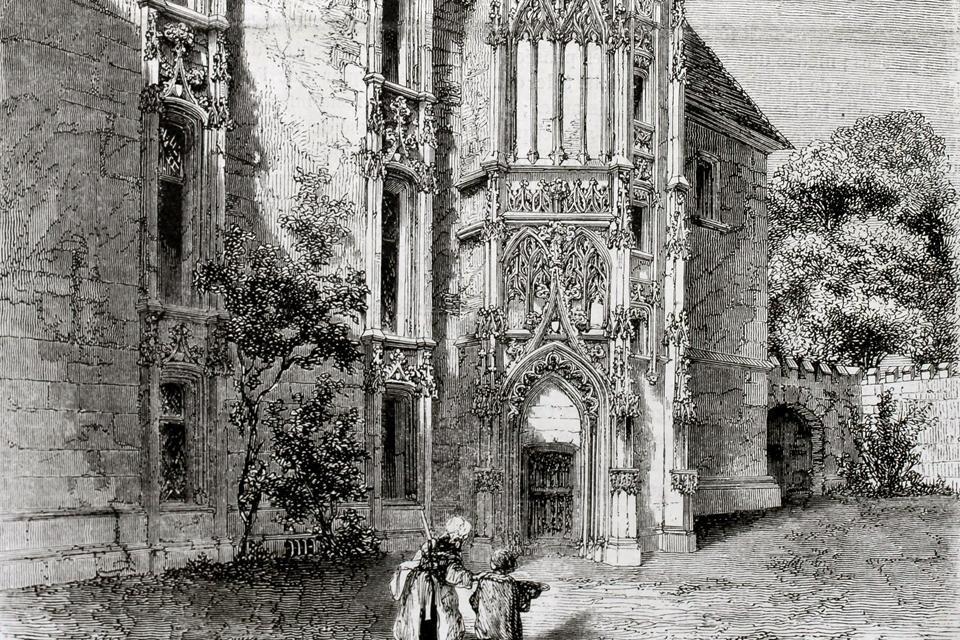 La Catedral de Notre-Dame de Evreux , A lo largo de los siglos , Francia