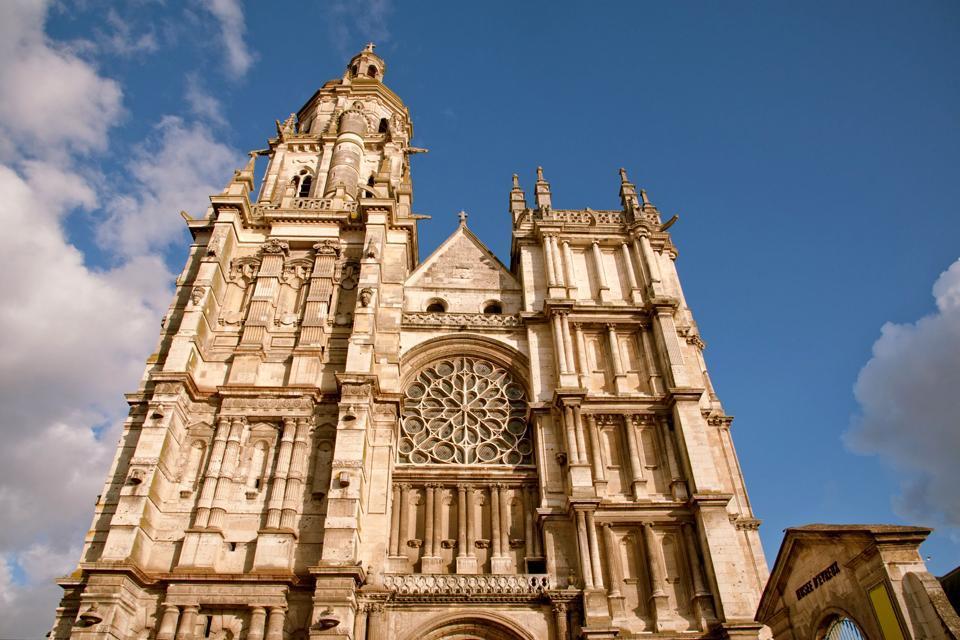 La Catedral de Notre-Dame de Evreux , Francia