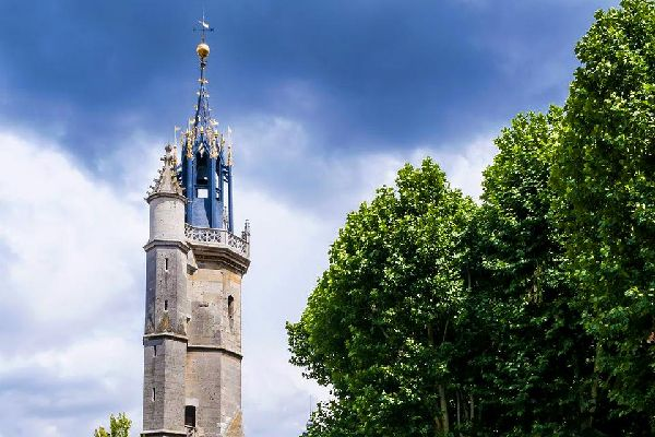 The Bell Tower of Évreux , France
