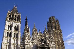 La Catedral de Notre-Dame de Ruán , Francia