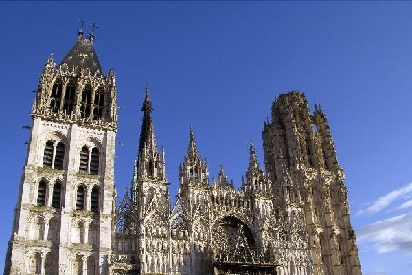 Kathedrale Notre-Dame in Rouen , Frankreich
