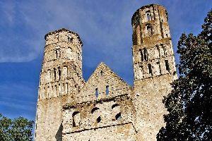 La Abadía de Notre-Dame de Jumièges , Francia