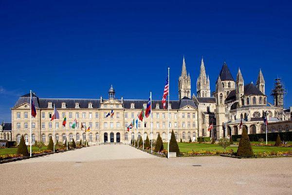 The Caen Abbeys , France