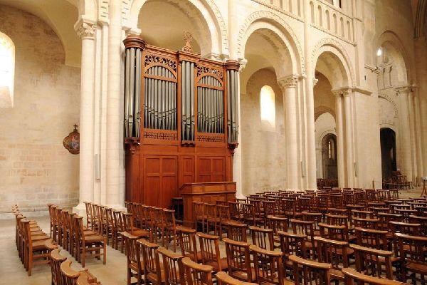 Les abbayes de Caen , France