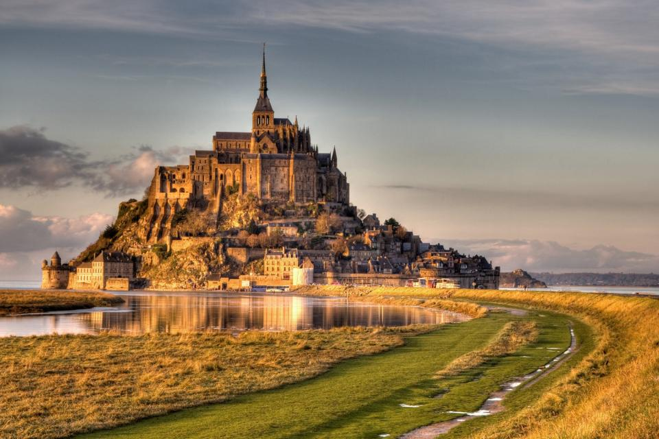 The Mont Saint Michel , Internationally known , France