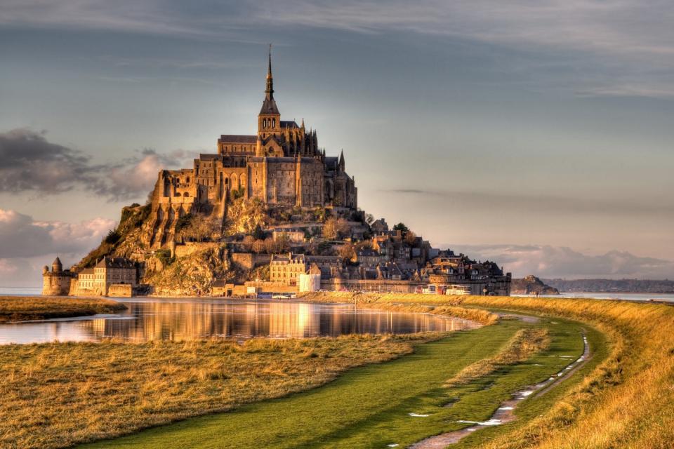 El Monte Saint-Michel , Celebridad mundial , Francia