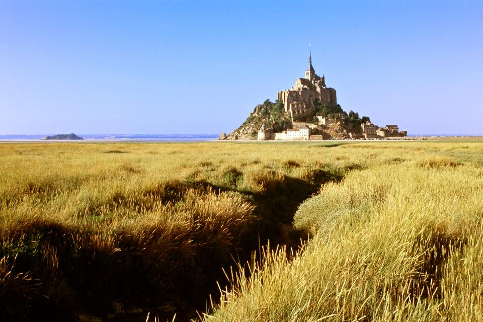 The Mont Saint Michel , The myth of St. Michel , France