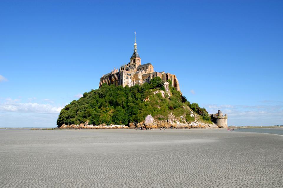 El Monte Saint-Michel , Francia