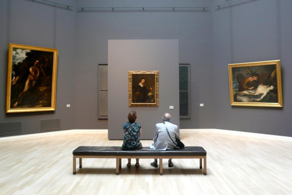 Museum der schönen Künste Rouen , Christus am Kreuze , Frankreich