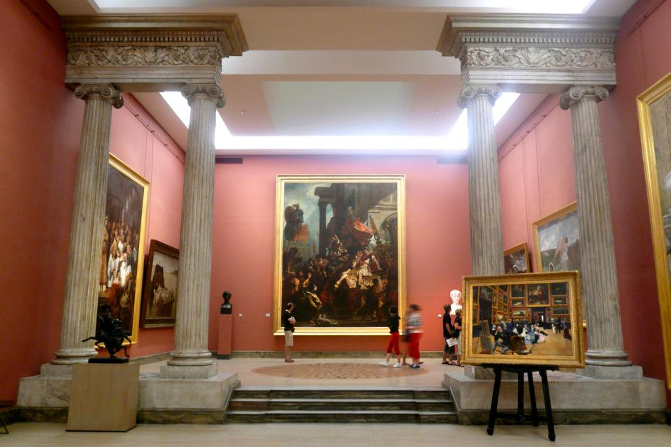 Museum der schönen Künste Rouen , Kulturschock , Frankreich