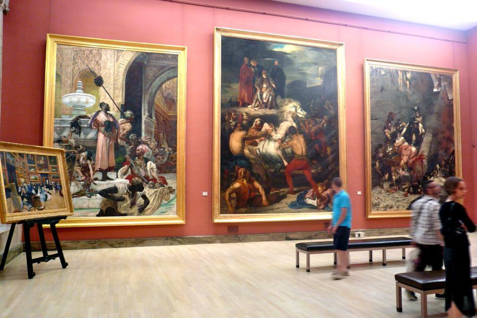 Museum der schönen Künste Rouen , Frankreich