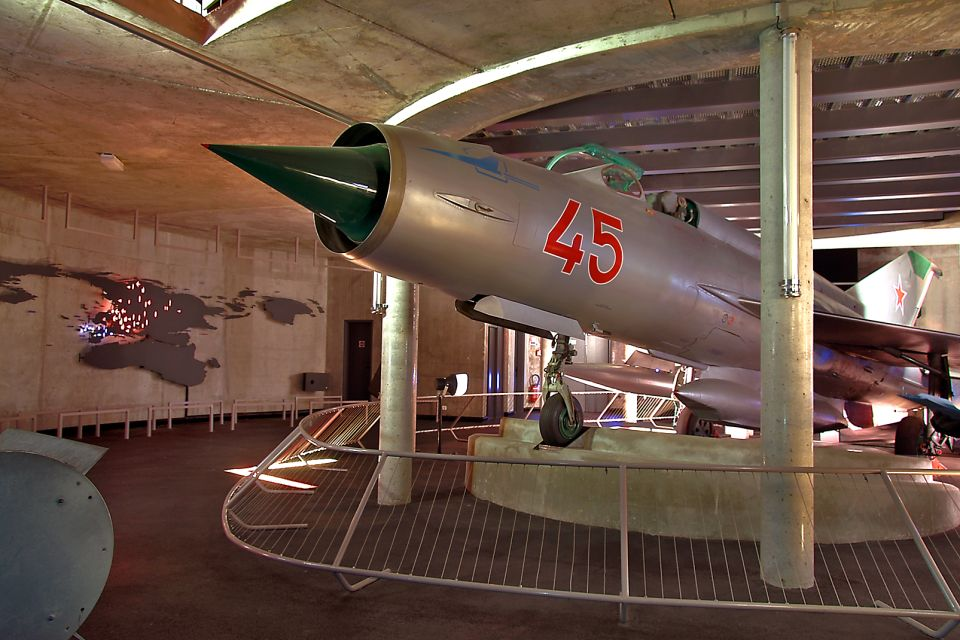 The Mig 21, Mémorial de Caen (Caen Memorial), Arts and culture, Normandy