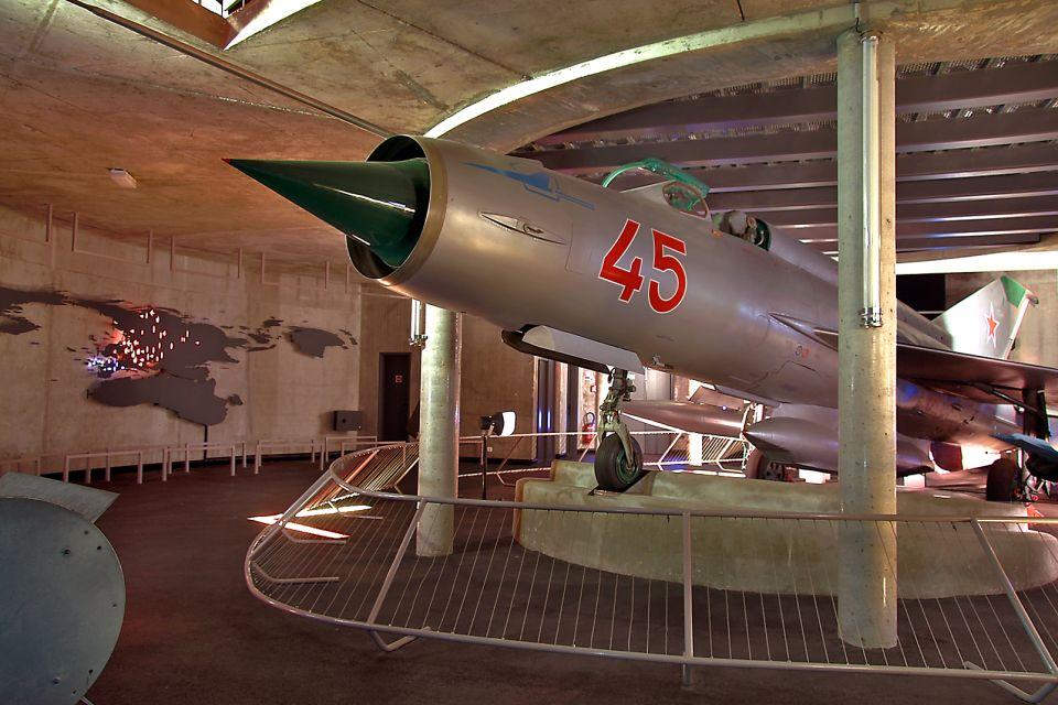 Mig 21, Le Mémorial de Caen, Les arts et la culture, Normandie