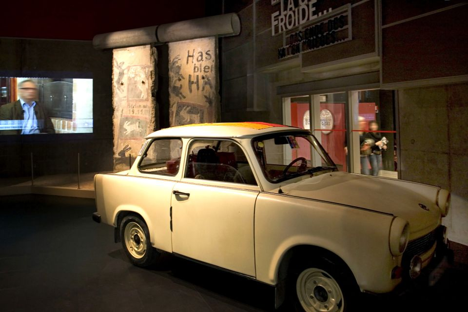 A Trabant, Mémorial de Caen (Caen Memorial), Arts and culture, Normandy
