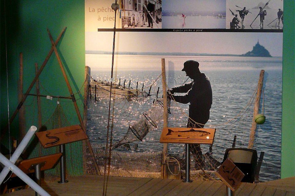 Maison de la baie (Bay Centre) Mont-Saint-Michel , The eco-museum of the bay , France