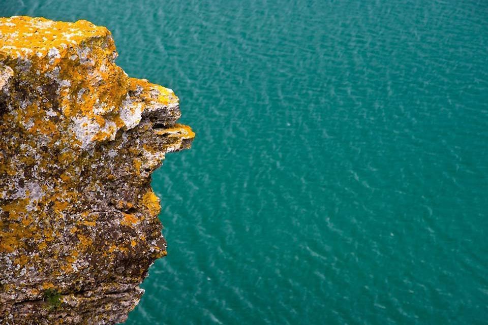 Die Felsenküste , Aussicht von der Felsenküste , Bulgarien