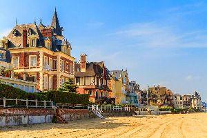 Les plages du Calvados , France