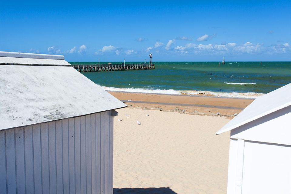 Calvados beaches , France