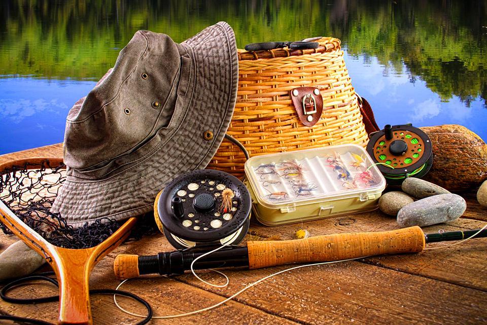 La pêche , Excellent coin de pêche , France