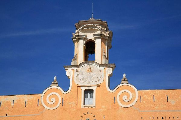 The Citadel of Bastia , The Citadel's bell tower , France
