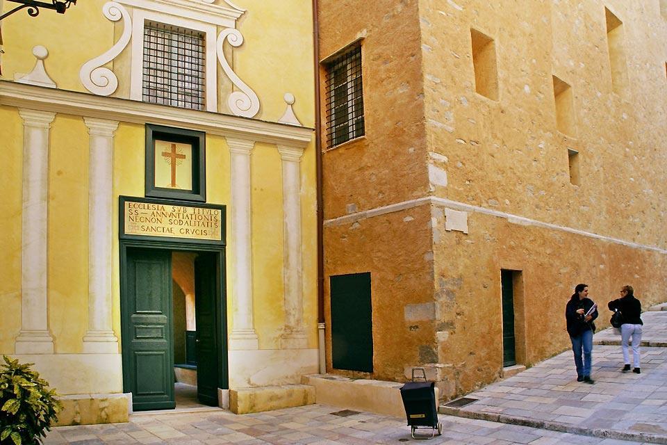 La ciudadela de Bastia , Por las calles de la ciudadela , Francia